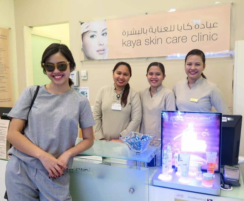 Bettina Micu at Kaya Skin Care Clinic